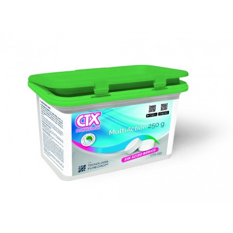 Chlore MultiAction sans cuivre et sans acide borique CTX 393SB